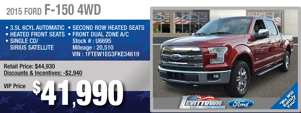 pre-owned ford f-150 truck