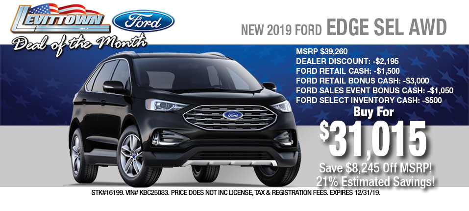 2019 Ford Edge-Buy