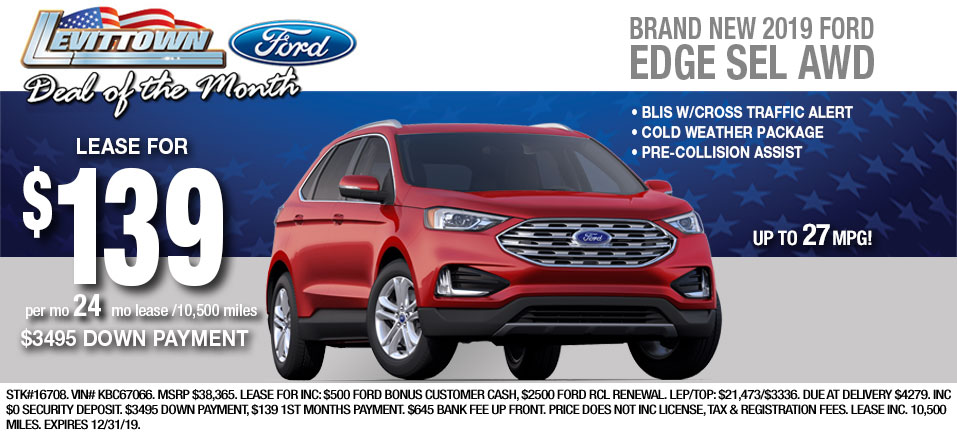 Ford Edge-Lease