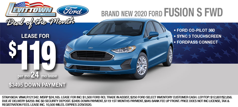 Ford Fusion-S-LEASE